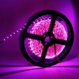 12W Bare Board Pink Light LED 3014 SMD Rope Light, 120 LED/m, Length: 5m, Wide: 8mm