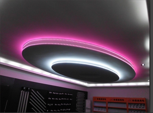 12W Bare Board Pink Light LED 3014 SMD Rope Light, 120 LED/m, Length: 5m, Wide: 8mm