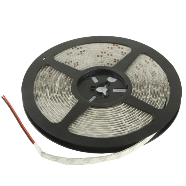 Epoxy Waterproof Warm White Light LED 3528 SMD Rope Light with EU Plug Power Supply, 60 LED/m ...