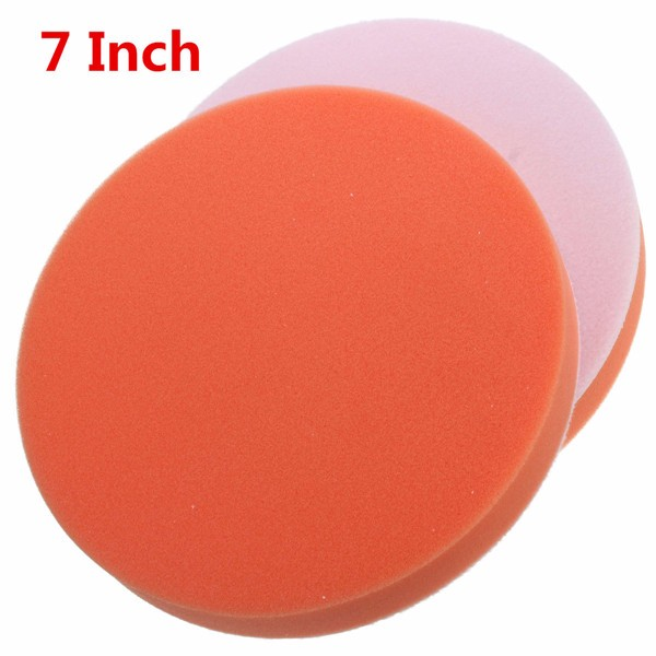 7pcs 3/4/5/6/7 Inch Buffing Pad Set M14 Thread Backer Plate Drill Adapter Polishing Buffing for Car polisher