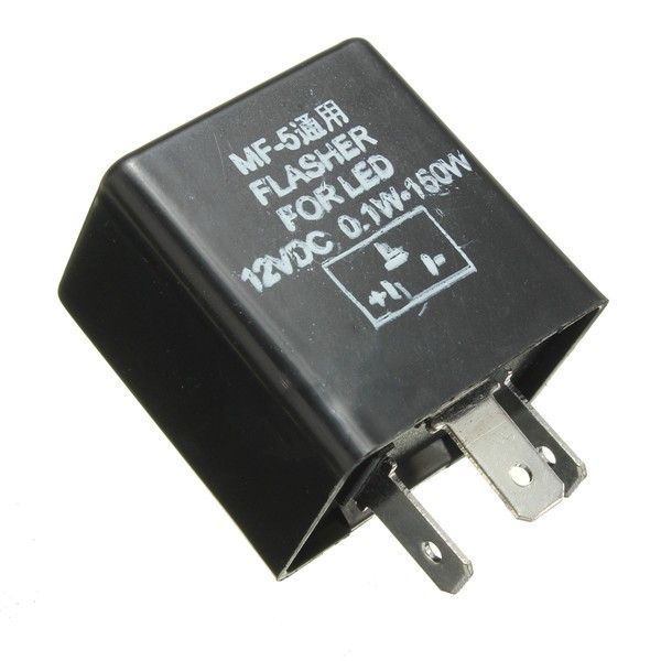 Universal 3 Pin LED Flasher Relay 12V 150w Motorcycle Indicator on flasher switch, 552 flasher wiring, three terminal flasher wiring, signal flasher wiring, 2 terminal flasher wiring, turn flasher wiring, ignition coil wiring, starter wiring, 3 pole flasher wiring, flasher button, 6 volt flasher wiring, hazard flasher wiring, flasher diagram, 550 flasher wiring, car flasher wiring, electronic flasher wiring,