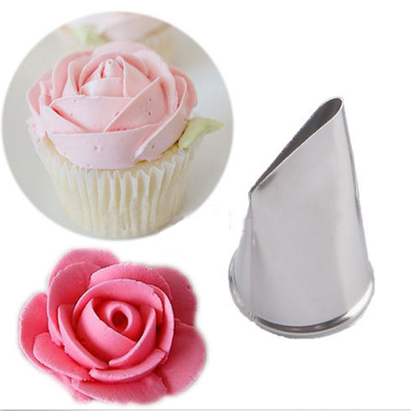 steel icing piping nozzles cupcake fondant cake decorating pastry tool