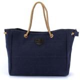 Women Casual Canvas Shopping Bag Shoulder Tote Messenger Handbag