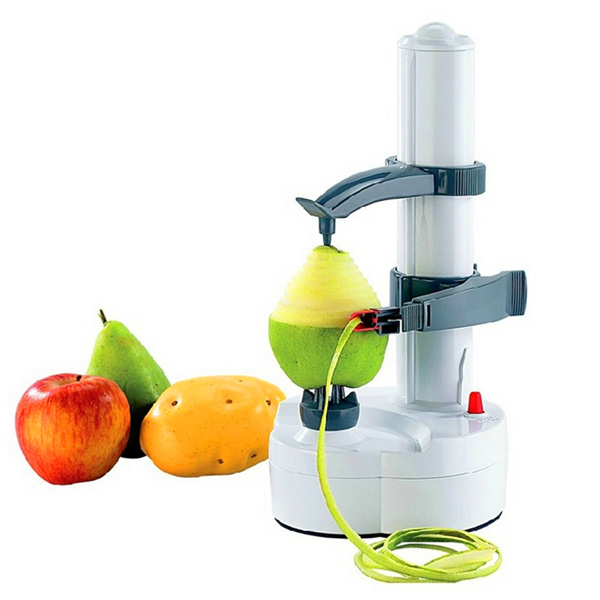 Electric Potato Slicer ~ Electric potato peeler automatic pear apple fruit cutter