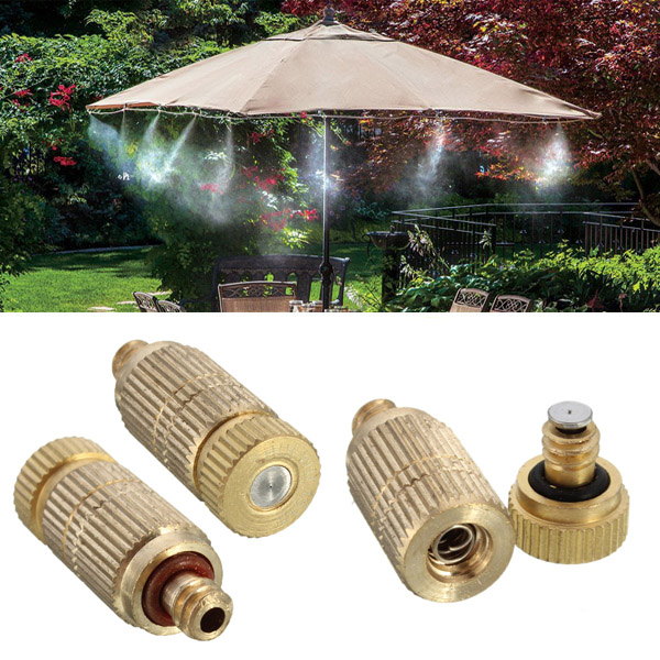Inch garden irrigation brass misting spray nozzle