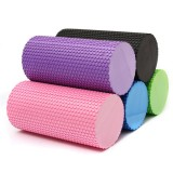 EVA Yoga Fitness Foam Roller Massage Grid Column Trigger Point Therapy Slimmimg Exercise