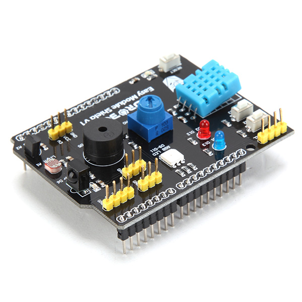 Multifunction expansion board dht lm temperature