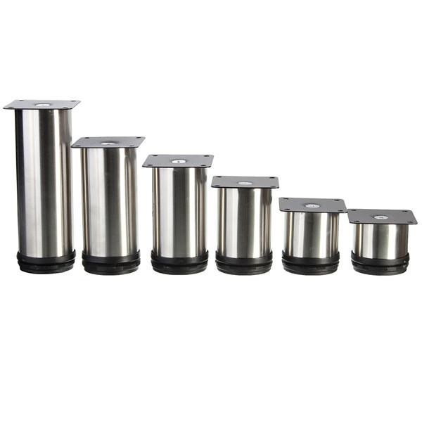 Adjustable Coffee Table Nz: 4 Pcs Stainless Steel Furniture Legs Adjustable Cabinet