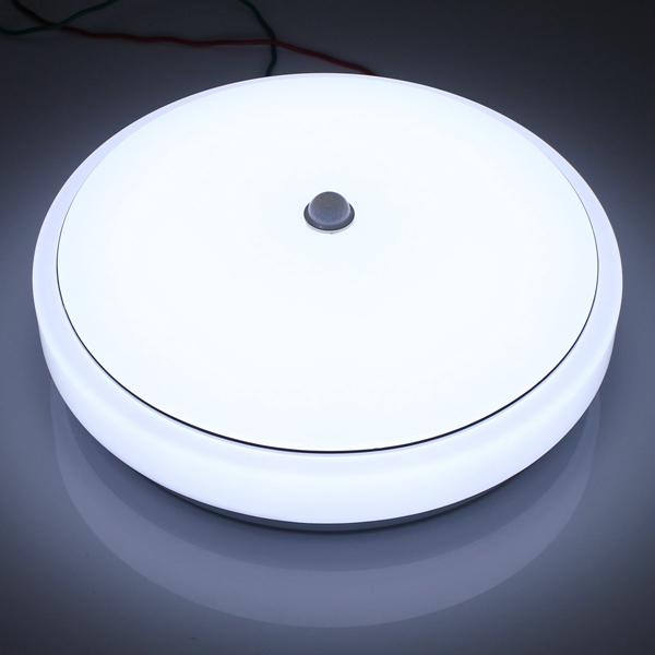 12w Pir Infrared Motion Sensor Flush Mounted Led Ceiling