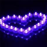 Waterproof LED Light Party Wedding Decor Floral Lamp Decoration Vase Candle Fishbowl Light