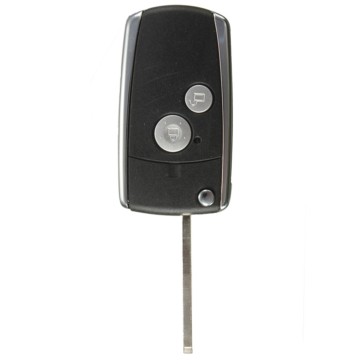 2 buttons remote black flip key shell for honda civic crv jazz