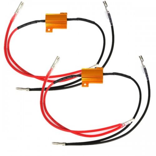 2Pcs 12V Motorcycle Light Aluminium Resistor Flasher Relay QUAD ATV