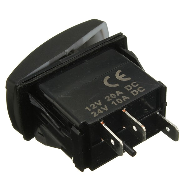 Led Light Rocker Switch On  Off Wiring Harness With Relay Fuse Ce