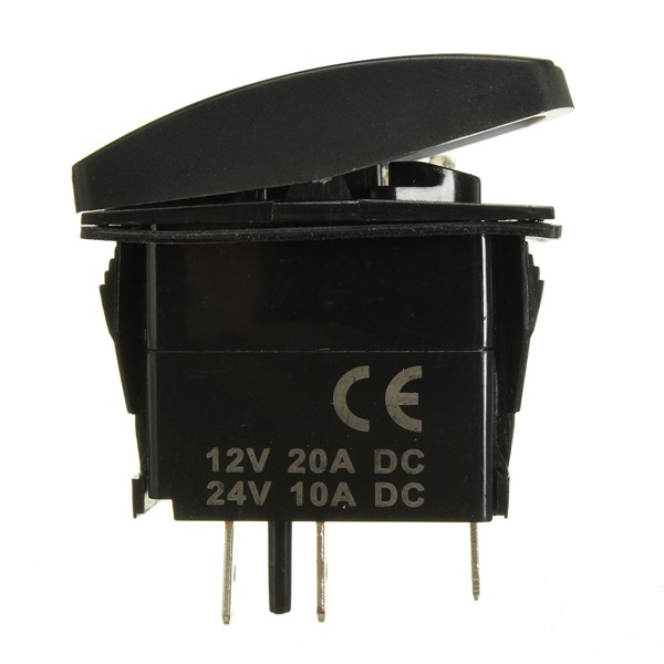 Led Light Rocker Switch On  Off Wiring Harness With Relay