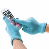 HAWEEL Kids Three Fingers Touch Screen Gloves for iPhone 6s & 6s Plus / iPhone 6 & 6 Plus / iPhone 5 & 5S / iPad / iPod touch (Blue)