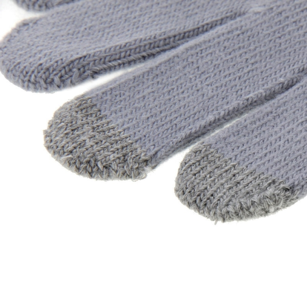 HAWEEL Kids Three Fingers Touch Screen Gloves for iPhone 6s & 6s Plus / iPhone 6 & 6 Plus / iPhone 5 & 5S / iPad / iPod touch (Grey)