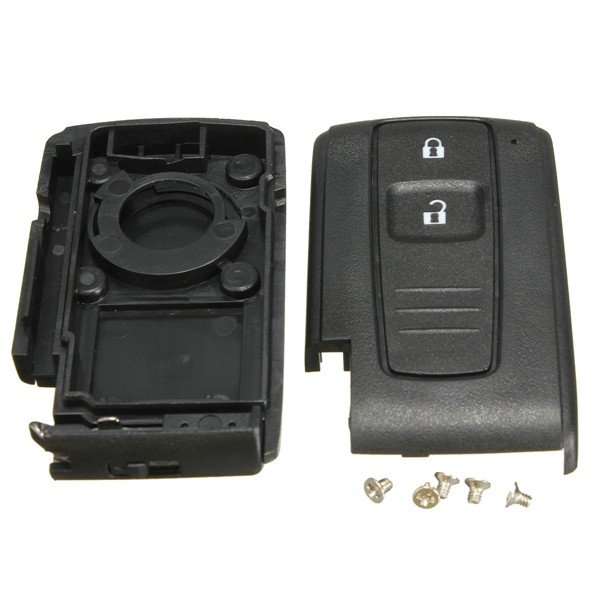 2 Buttons Smart Remote Key Keyless Entry Case Shell Fit for Toyota Prius Fob
