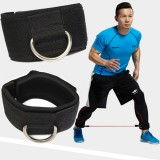 D Ring Gym Ankle Strap Cable Attachment Leg Strength Training  Fitness Equipment