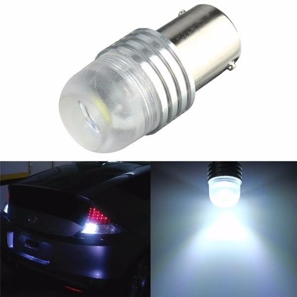 white 3w dc 12v 1156 ba15s p21w cree q5 led car bulb. Black Bedroom Furniture Sets. Home Design Ideas