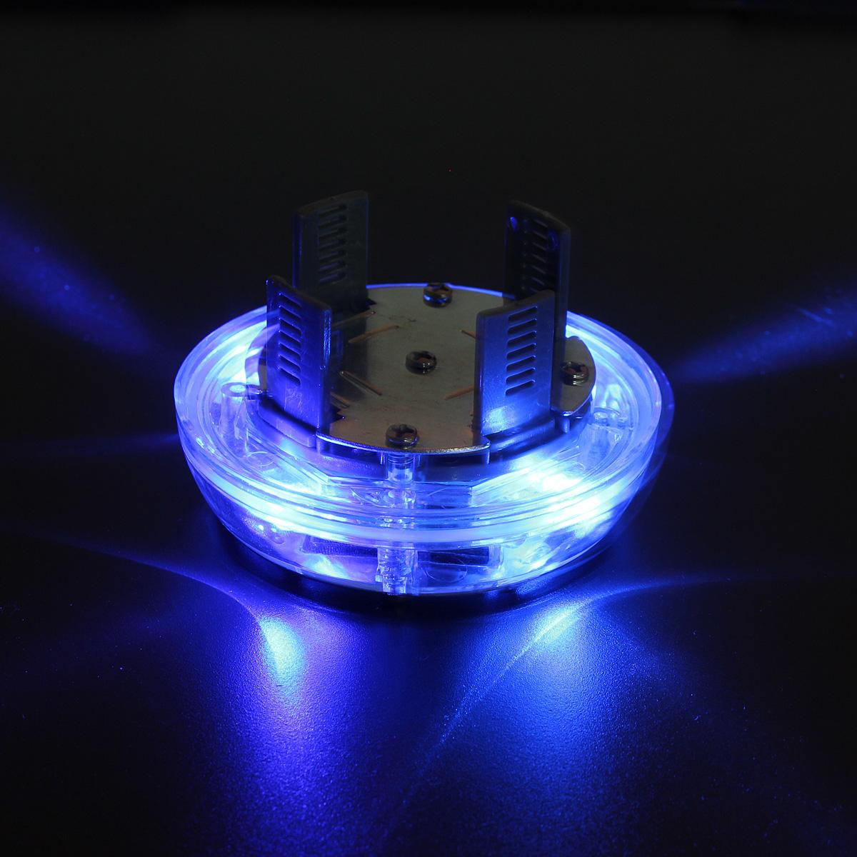 4 Modes 12 LED Car Auto Solar Energy Flash Wheel Tire Rim Light Lamp