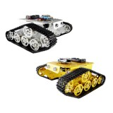 DIY T300 NodeMCU Aluminum Alloy Metal Wall-E Tank Track Caterpillar Chassis Smart Robot Kit