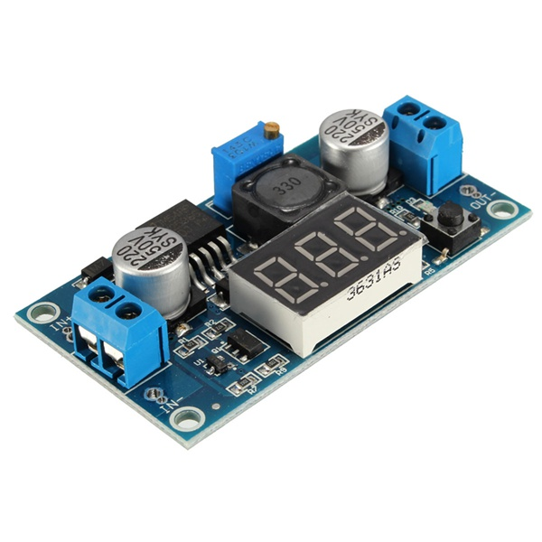 Lm2596 Dc Dc Voltage Regulator Adjustable Power Supply
