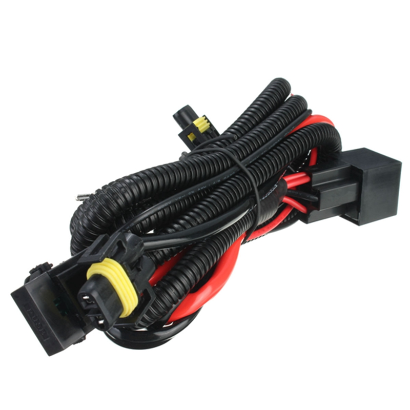 h11 880 relay wiring harness for hid conversion kit add on fog rh alexnld com Automotive Wiring Harness Connectors Relay Wiring Diagram