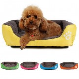 S Size Dog Cat Pet Puppy Kennels Beds Mat Houses Doghouse Warm Soft Pad Blanket