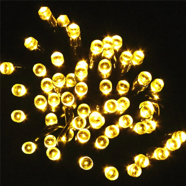 8M 60 LED Solar Power String Fairy Light Outdoor Party Wedding Xmas Garden Decor