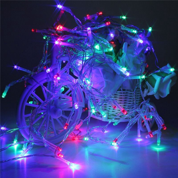 80led battery powered led funky on twinkling lamp fairy string lights. Black Bedroom Furniture Sets. Home Design Ideas