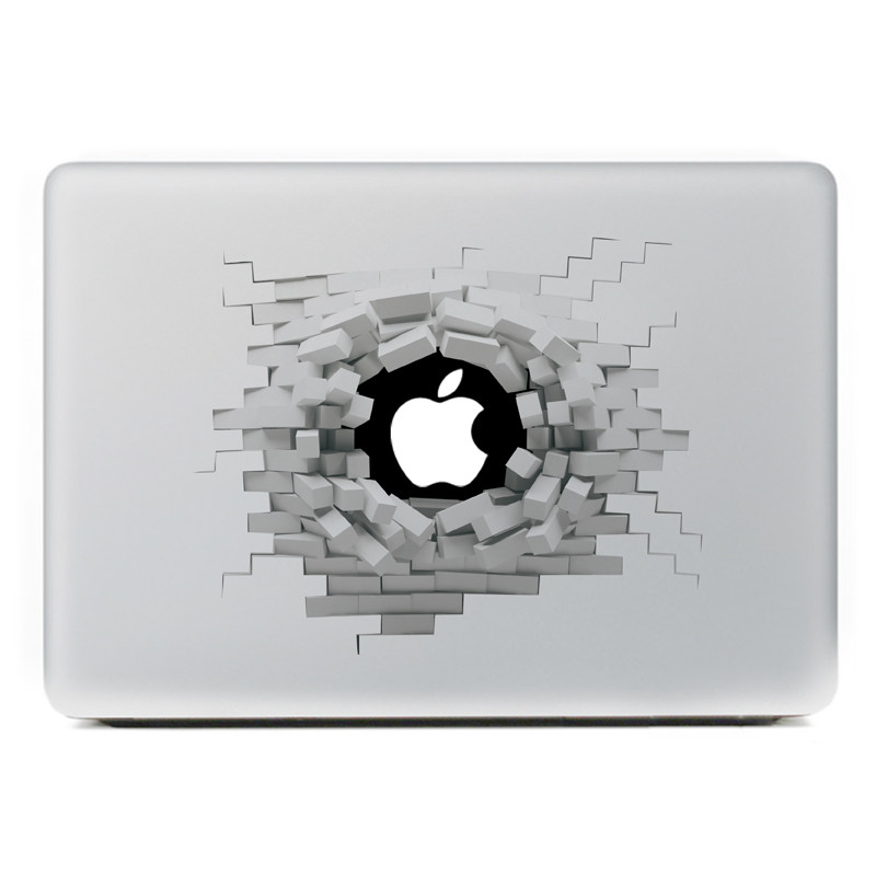 Removable 3d Effect Vinyl Decal Sticker Skin For Macbook