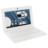 Netbook PC, 10.1 inch, 1GB+8GB, Android 6.0 Allwinner A33 Quad Core 1.5GHz, WiFi, USB, SD, RJ45(White)