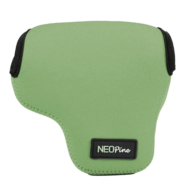 NEOpine Neoprene Shockproof Soft Case Bag with Hook for Canon PowerShot G3X Camera (Green)
