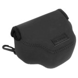 NEOpine Neoprene Shockproof Soft Case Bag with Hook for Canon SX510 Camera (Black)