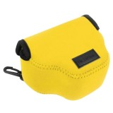 NEOpine Neoprene Shockproof Soft Case Bag with Hook for Canon SX510 Camera (Yellow)