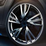 Universal Decorative Scratchproof Stickup 8M Flexible Car Wheel Hub TRIM Mouldings Decoration Strip (White)