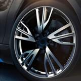 Universal Decorative Scratchproof Stickup 8M Flexible Car Wheel Hub TRIM Mouldings Decoration Strip (Grey)