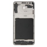 Full Housing Cover Replacement (Front Housing LCD Frame Bezel Plate + Middle Frame Bazel + Battery Back Cover) + Home Button Replacement for Samsung Galaxy Grand Prime / G530 (White)