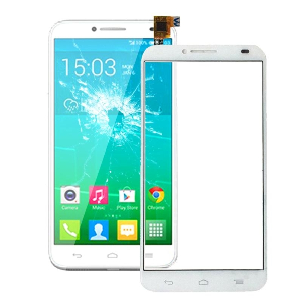 Touch Screen Replacement for Alcatel One Touch Idol 2 / OT6037 / 6037 /  6037Y (White)