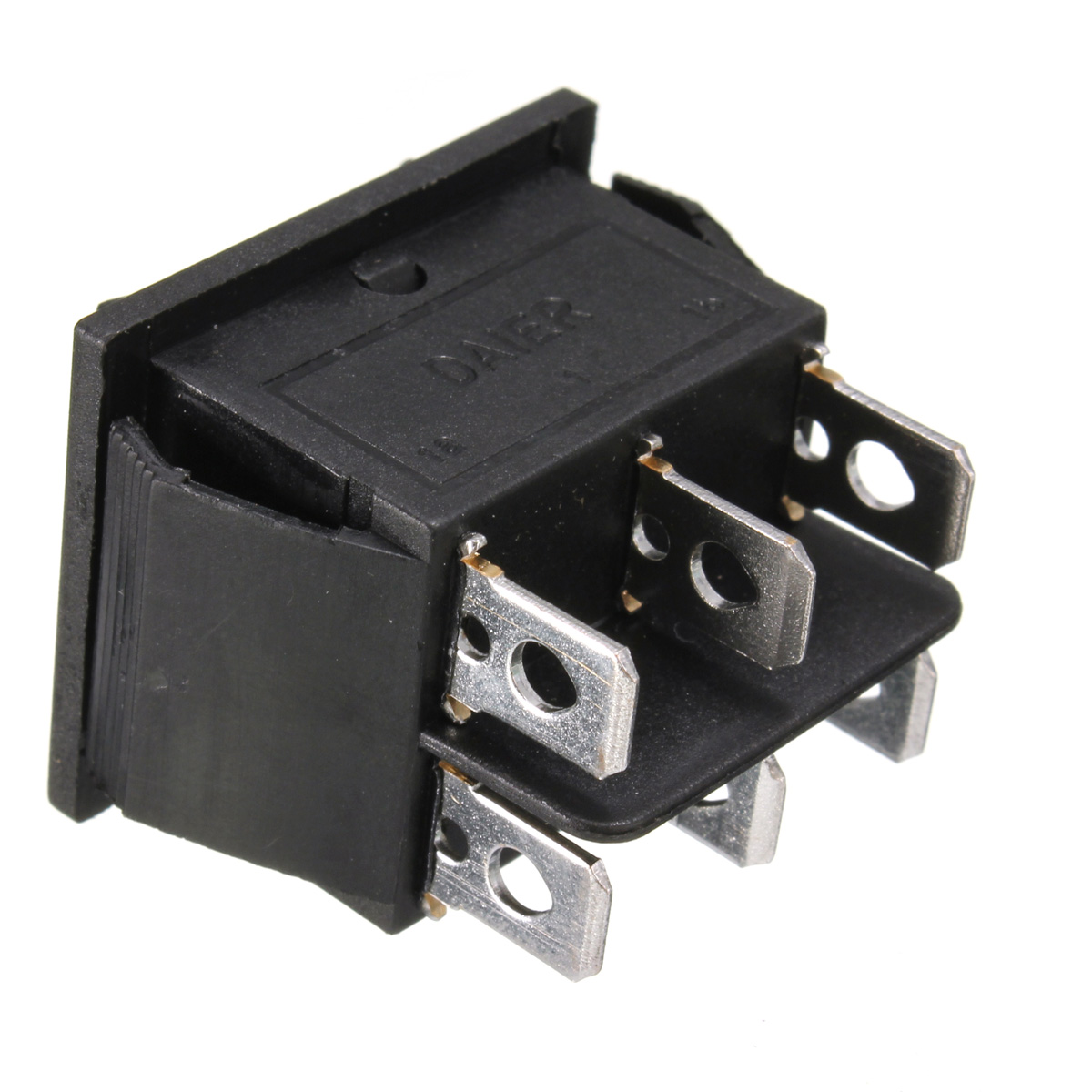 12 Volt 6 Pin Dpdt Power Window Momentary Rocker Switch Ac 250v 10a 125v 15a on 12 volt relay diagram