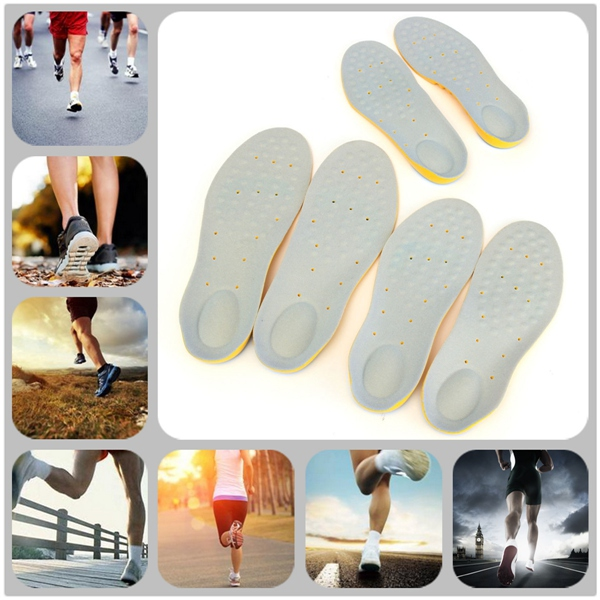 Memory Foam Orthotic Arch Support Boot Shoes Insoles Insert Pad Comfortable Soft Breathable