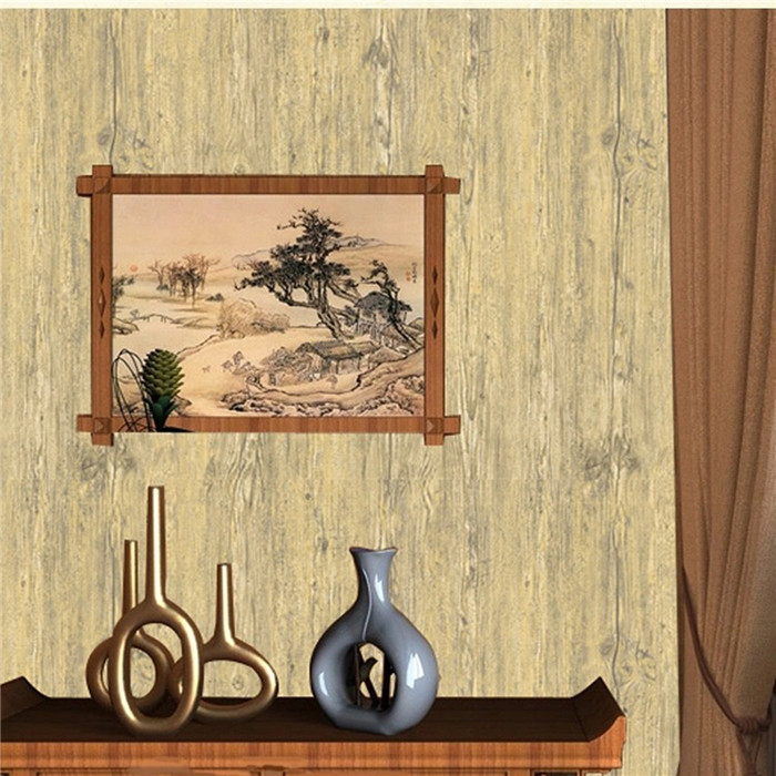 5 Colors 10m Wood Grain Roll Wallpaper Home Living Room Wall TV ...