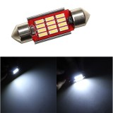 36MM 4014 12SMD Festoon Dome LED Light Interior Reading Bulb 12 ~24V DC Non-polar with Radiating Function