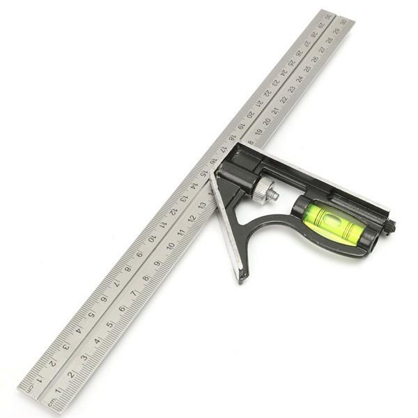 Precise Measuring Tools Aluminium Combination Square Diy