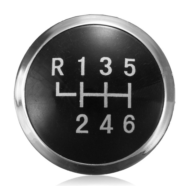 Replacement 6 Speed Gear Knob Badge Emblem Cap For Vw T5