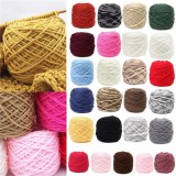 25Color Soft Cotton Hand Knitting Yarn Smooth Wool Yarn Ball Wool craft Baby Clothes