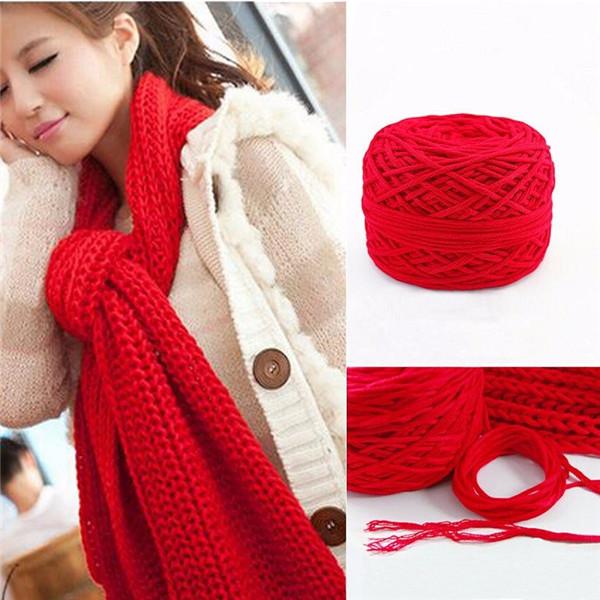 25color Soft Cotton Hand Knitting Yarn Smooth Wool Yarn Ball Wool