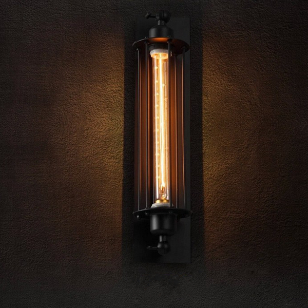 Wall Lamps For Dining Room : Vintage Iron Countryside Wall Lamps for Living Room Dining Room 110V 220V Alex NLD