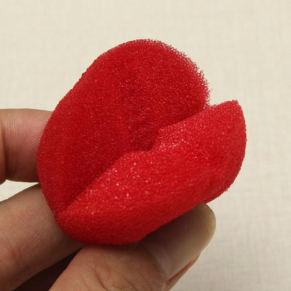 2PCS Close-Up Magic Street Trick Soft Sponge Ball Props Clown Nose