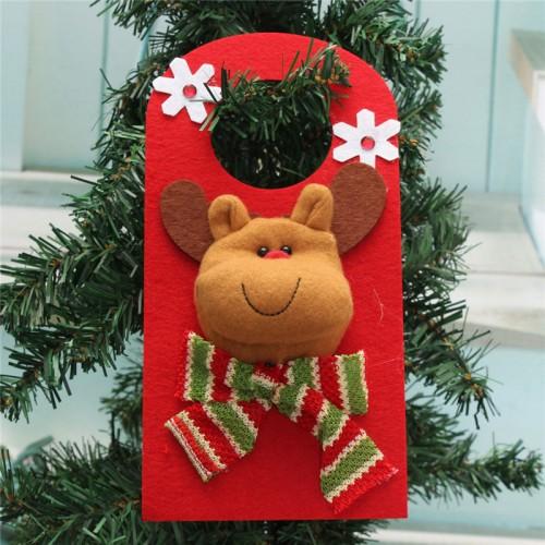 Christmas Xmas Decoration Hanging Santa Clau Snowman Elk Christmas Decoration